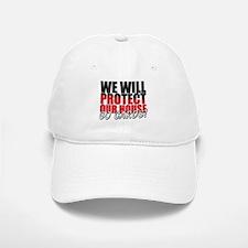Protect Our House Baseball Baseball Cap