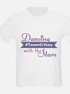 Dwts #teamcrikey Kids T-Shirt