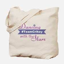 Dwts #teamcrikey Tote Bag