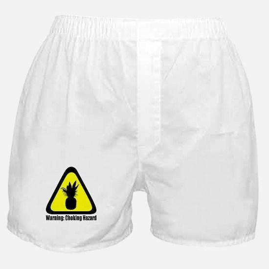 Warning: Choking Hazard Boxer Shorts