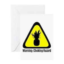 Warning: Choking Hazard Greeting Cards