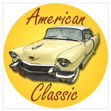 American Classic Cadillac Deville Poster