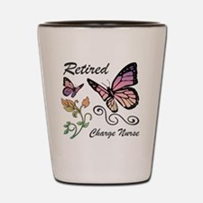 Retired Charge Nurse Shot Glass