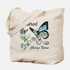 Retired Charge Nurse Tote Bag