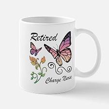 Retired Charge Nurse Mugs