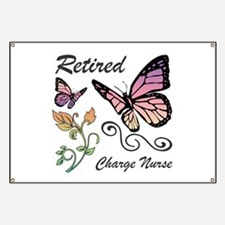 Retired Charge Nurse Banner