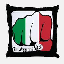 Italian Fist 1928 Throw Pillow