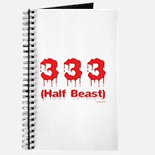 Half Beast Journal