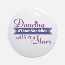 Dwts #teamsharnick (round) Round Ornament