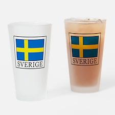 Sverige Drinking Glass