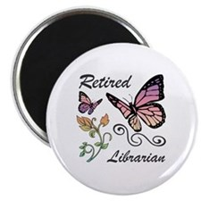 Retired Librarian Magnet