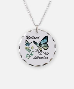 Retired Librarian Necklace