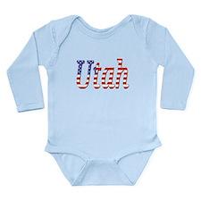 Patriotic Utah Body Suit