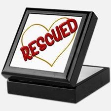 Rescued Heart Keepsake Box