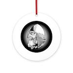 Viking Warrior Ornament (Round)