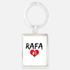 Unique Rafael nadal Portrait Keychain
