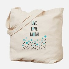 Cute Live love Tote Bag