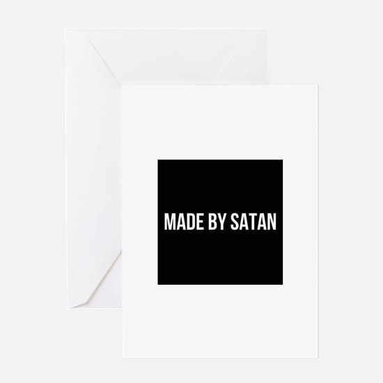 SATAN Greeting Cards