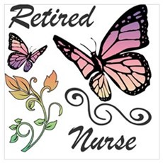Retired Nurse Poster