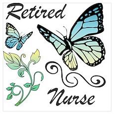 Retired Nurse Poster