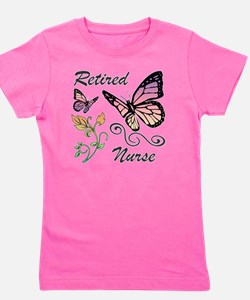 Retired Nurse Girl's Tee