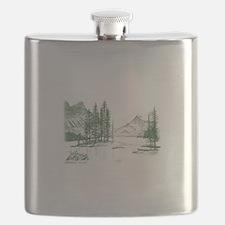 Unique Tranquil Flask