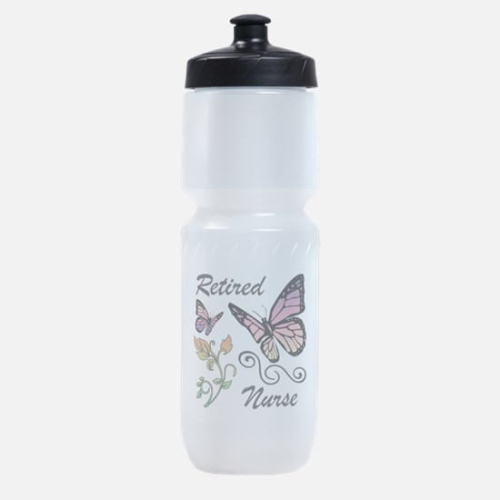 Retired Nurse Sports Bottle