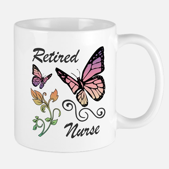 Retired Nurse Mugs