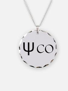 Psycho Black Design. Greek Necklace