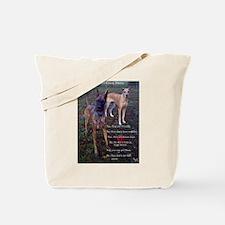 Great Dane questions Tote Bag