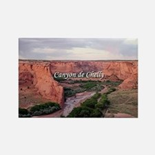 Canyon de Chelly at sunset (capti Rectangle Magnet