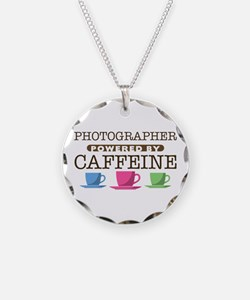 Photographer Powered by Caffeine Necklace