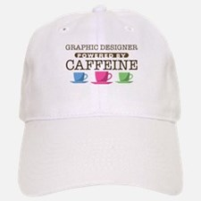 Graphic Designer Powered by Caffeine Hat