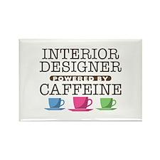 Interior Designer Powered by Caffeine Rectangle Ma