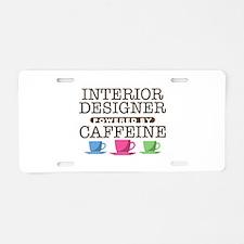 Interior Designer Powered by Caffeine Aluminum Lic