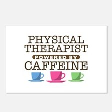 Physical Therapist Powered by Caffeine Postcards (