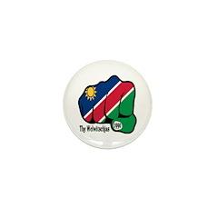 Namibia Fist 1990 Mini Button (10 pack)