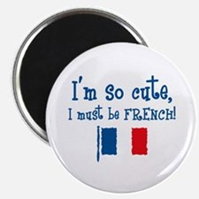 So Cute French Magnet