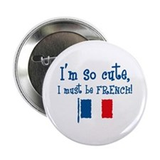 So Cute French Button