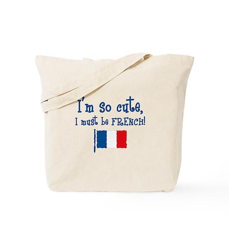 So Cute French Tote Bag