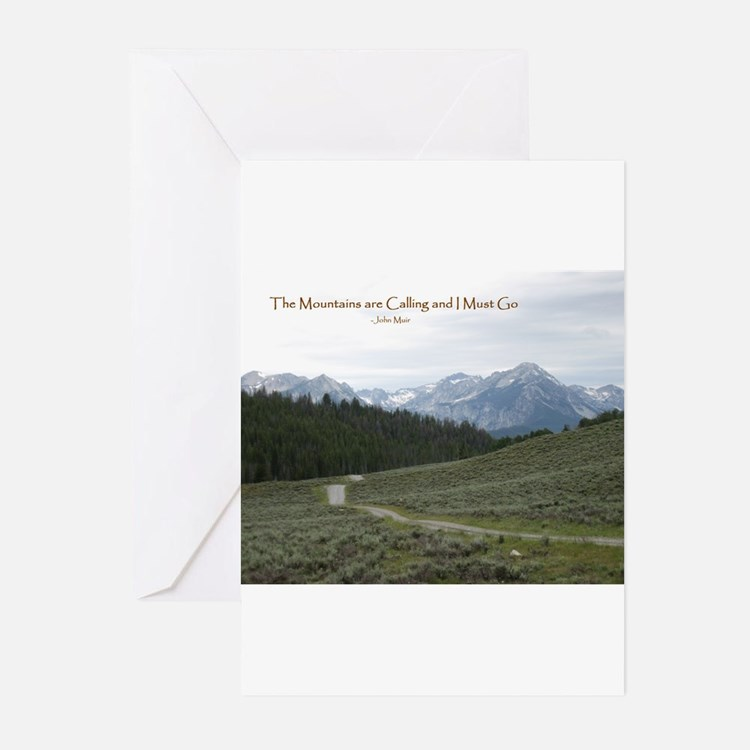 Cute Mountains Greeting Cards (Pk of 20)