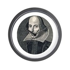 Wm Shakespeare Wall Clock