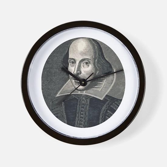 Wm Shakespeare Wall Clock