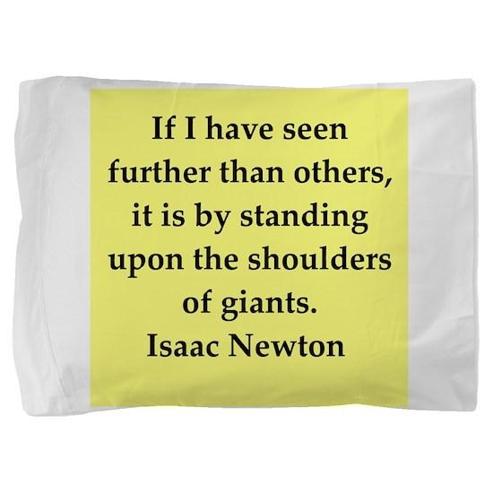 newton6.png Pillow Sham
