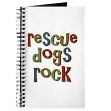 Rescue Dogs Rock Pet Dog Lover Journal