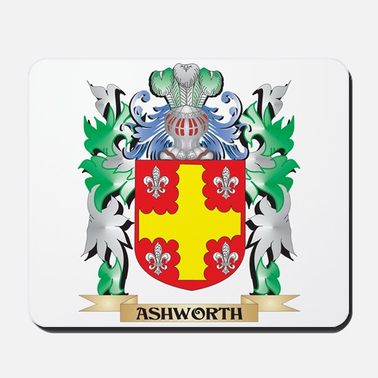 Ashworth Coat of Arms - Family Crest Mousepad