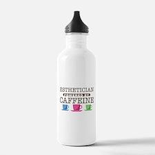 Esthetician Powered by Caffeine Water Bottle