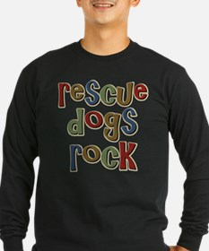 Rescue Dogs Rock Pet Dog Lover T