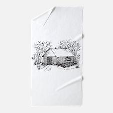 Cute House warming Beach Towel