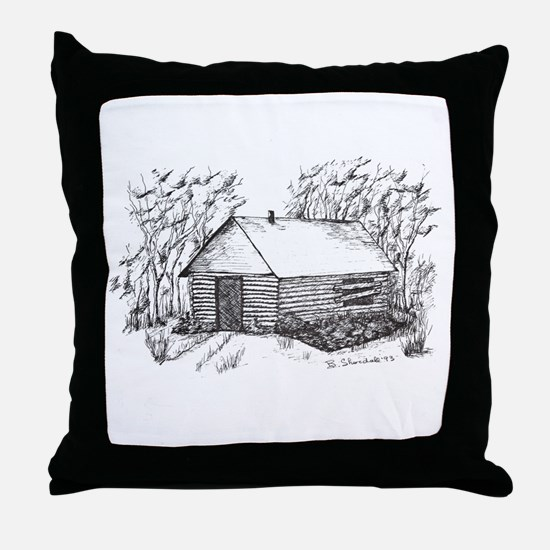 Funny House warming Throw Pillow